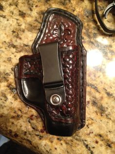 Ruger LC9S custom leather holster Loading that magazine is a pain! Get your Magazine speedloader today! http://www.amazon.com/shops/raeind