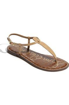Sam Edelman 'Gigi' Sandal (Women) Nordstrom Almond Size 10 $74.95