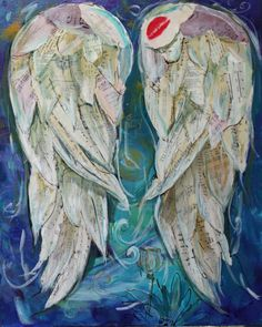 """Wings of Love           """"The Kiss"""" by  Michelle Lake  sold"""