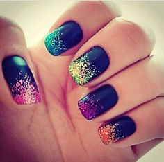 Nails, Nail art #nails, #nailart #summer