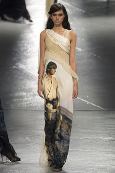 Rodarte AW 2014/2015 Luke Skywalker Star Wars robe high fashion