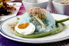 Nasi Kerabu Bila Chah Ke Dapur