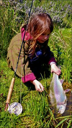 ...if I ever have a daughter I will be sure to teach her to fly fish.  #flyfishing #girlsfish