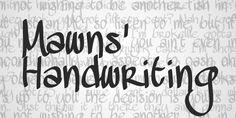 10 Originales y gratuitas fuentes tipográficas manuscritas (Handwriting)   TodoGraphicDesign
