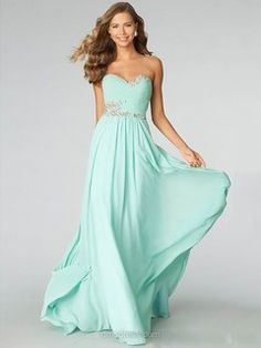 Sweep+Train+For+Less+Chiffon+Beading+Sweetheart+Open+back+Prom+Dress+-$130.39