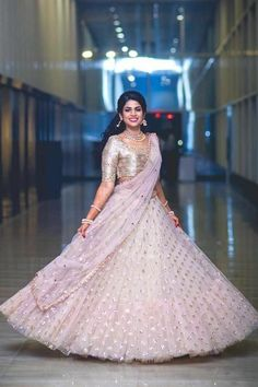 55 Bridal Lehenga designs that will inspire you - Wedandbeyond Lehenga Choli Wedding, Half Saree Lehenga, Designer Bridal Lehenga, Lehnga Dress, Pink Lehenga, Indian Bridal Lehenga, Designer Lehanga, Lehenga Blouse, Lehenga Saree