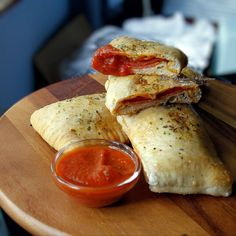 Perfectly Portable Pizza Hand Pies (pizza pop tarts) from The Kitchen Whisperer