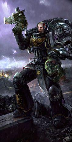 art,арт,красивые картинки,warhammer 40k,фэндомы,Warhammer 40000,warhammer40000, warhammer40k, warhammer 40k, ваха, сорокотысячник,death watch