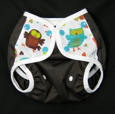 Ok I have to get this one!! One Size Diaper Cover with Embellished Tabs and by SwaddleinCloth, $15.00