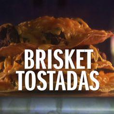 Turn leftover brisket into Brisket Tostadas with The Pioneer Woman's recipe.
