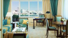 Long considered Lisbon's premier hotel and located right in the heart of the city, @Four Seasons Hotel Ritz Lisbon provides a glorious bird's-eye view of the city's stunning historic sites – and makes the perfect starting point for exploring its unique architecture.