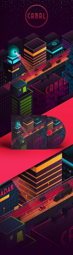 Canal on Behance
