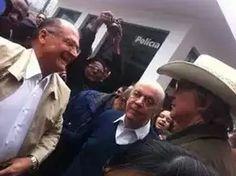 Eleições 2014 o candidato a governador de são paulo votou nessa manhã. Evitando comentar a vitória. Blog  cadernoD Danmoreno59.blogspot.com