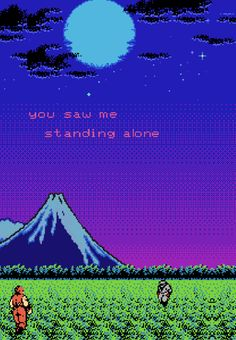 And you left me there Aesthetic Art, Aesthetic Pictures, Aesthetic Anime, Holographic Paint, Typo Logo Design, Vaporwave Art, 8bit Art, Anime Pixel Art, Hip Hop Art