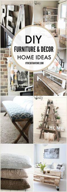 Diy Furniture And Home Decor Tutorials