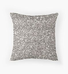 This pillow adds a flair of personality to the space.