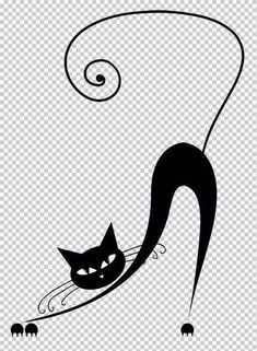 Chat // Templates cats for decoration Cat Silhouette, Crazy Cats, Rock Art, Cat Art, Cats And Kittens, Ragdoll Kittens, Tabby Cats, Funny Kittens, Bengal Cats