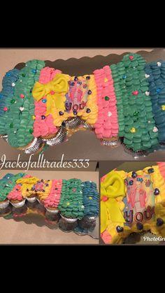 Bow Cupcake Cake Cupcake Cakes Jojo Siwa Birthday