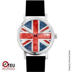 Mostrar detalhes para Relógio de pulso OTR BANDEIRA INGLATERRA LOC 003