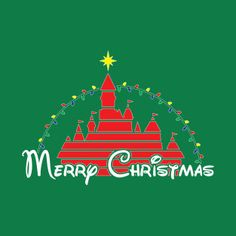 Shop Merry Christmas at the happiest place on earth RED christmas t-shirts designed by old_school_designs as well as other christmas merchandise at TeePublic. Disney Christmas Cards, Disney Christmas Decorations, Merry Christmas, Christmas Travel, Christmas Love, Christmas Crafts, Christmas Trips, Christmas Ideas, Disney Holidays