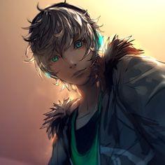 Anime Boy With Headphones, Yuumei Art, Fisheye Placebo, Boys Anime, Enchanted Wood, Phone Wallpaper Images, Anime Warrior, Water Me, Manga