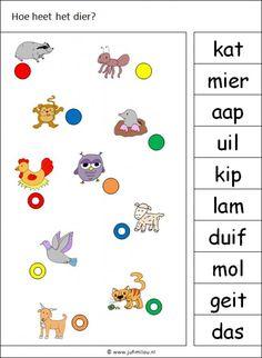 Deze knijpkaart en nog veel meer in de categorie taal kun je downloaden op de website van Juf Milou. Dutch Language, Fun Worksheets, Writing Practice, Lego Duplo, School Hacks, Pre School, Some Fun, Mini, Alphabet