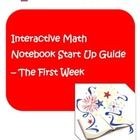 Interactive Math Notebooks provide students with a structured way to think about their learning and notes.    This free packet includes:  - directi...