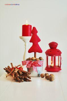 coloresdemialma: dekoracje świąteczne DIY 1