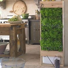 Vertical (herb) garden in your kitchen!