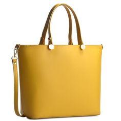 Kabelka CREOLE - K10226 Žlutá Totes, My Design, Backpacks, Tote Bag, Bags, Style, Inspiration, Products, Handbags