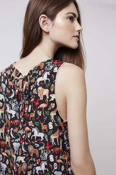Animal Print Pyjama Set - Topshop