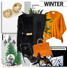 """""""Tangerine Tango Time!"""" by costisjewelry on Polyvore"""
