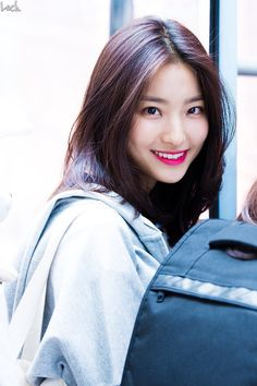 Saerom (Fromis_) Kpop Girl Groups, Korean Girl Groups, Kpop Girls, Smrookies Girl, Just Girl Things, Korean Celebrities, Beautiful Asian Girls, Ulzzang Girl, Jessica Jung