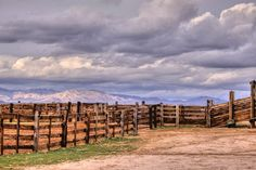 Western+Art+corrals+and+clouds+8x12+country+by+ApplesAndOats,+$25.00