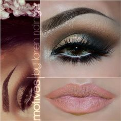 Absolutely flawless makeup look by #auroramakeup using our NEW Motives Mavens Element palette!
