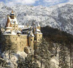 Le château de Bran (de Dracula) - Roumanie