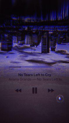 No tears left to cry Letras Ariana Grande, Ariana Grande Lyrics, Music Wallpaper, Tumblr Wallpaper, Wallpaper Quotes, Phone Backgrounds, Wallpaper Backgrounds, Iphone Wallpaper, Ariana Grande Wallpaper
