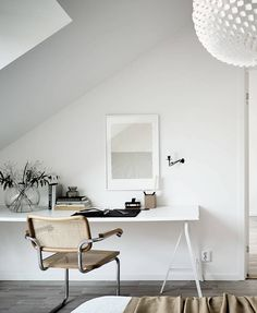 Light flooded attic home - via Coco Lapine Design blog | #connox #beunique