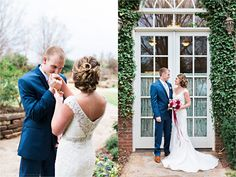 Kristen Edwards Photography / December Wedding / The Dominion House
