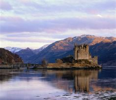 My obsessions with castles continues; I would love to see this someday- Eilean Donan Castle, near the town of Dornie