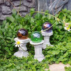 Mini Gazing Globes, Set of 3 - $5.99