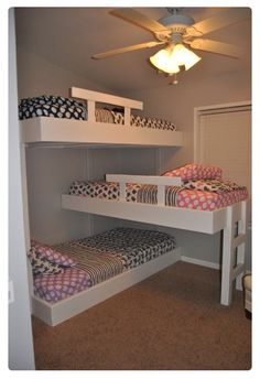 THREE LAYOUT BUNK BED THAT IS INCREDIBLE AMAZINGLY SO AWESOME THAT YOU CAN GET ADDICTIVE AND YOUR KIDS WILL NEVER STAY UP ALL TIRED EVER AGAIN!!!