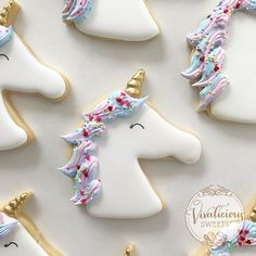 Beautiful unicorns by the beautiful Viv @vivalicious_sweets I've tried to share the tutorial twice but it won't work for me! To see how these were made please head over and check out her amazing tutorial on her Insta account!! @Regrann from @vivalicious_sweets -  Matching unicorn cookies for my gorgeous niece  Stay tuned for a video on how I decorated them xx . . #vivalicioussweets #melbournecake #melbournecakes #cakemelbourne #cakesmelbourne #unicorn #unicorncookies #unicornbiscuits #roy...
