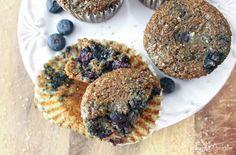 Healthful Blueberry Bran Muffins