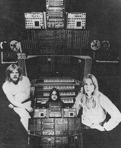 Tangerine Dream. Moog.