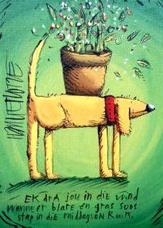 I just LOVE Hanlie Kotze, poetic art.....