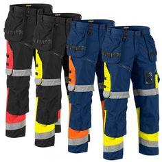 """Warnschutz Bundhose High Vis """"X1500"""" - BLAKLÄDER® #Blåkläder #warnschutz #warnschutzhose #arbeitshose"""