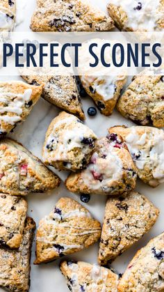 Deliciously flaky, crumbly, tender scones in ANY FLAVOR like chocolate chip scones, raspberry scones, blueberry scones, chocolate scones, and more scone recipes. sallysbakingaddiction.com