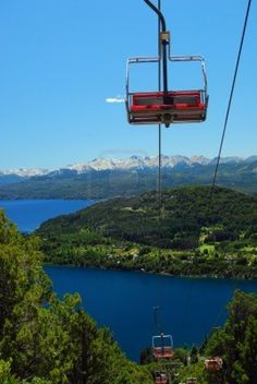 during the summer in Bariloche