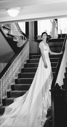 Timeless Antique 1940s Candlelight Ivory Satin and Lace Belle Bridal Wedding dress-Chantilly Lace Trim on Etsy, £678.76